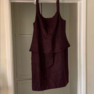 Sleeveless Peplum Dress